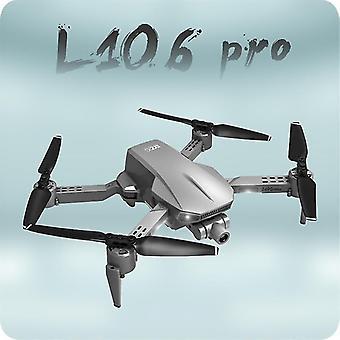 L106 Pro RC Drone GPS 4K HD камера против дрожания самостабилизирующееся 2-осевое карданный | Радиоуправляемые вертолеты