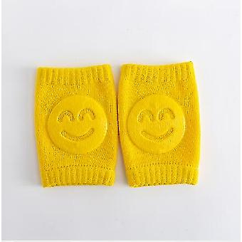 Baby Stockings Elbow Pad Crawling Knees Smiley Face Leg Warmers