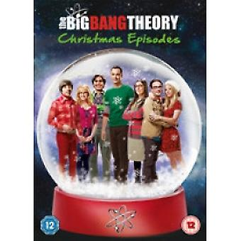 The Big Bang Theory Christmas Episodes 2013 DVD