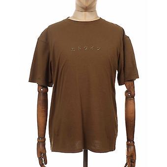 Edwin Jeans Katakana Tee - Uniform Grön