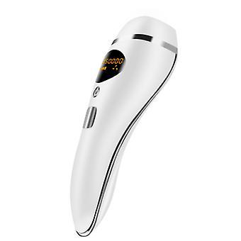 Trwałe urządzenie do depilacji laserowej IPL 990 000 błysków, odpowiednie dla całego ciała (białe)