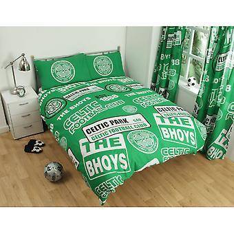 Celtic FC parchea juego de edredón doble