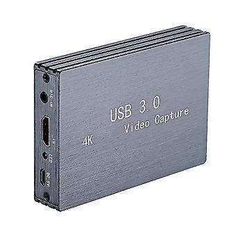 F19e 4k 60hz usb3.0 hdmi-compatible captura de vídeo 1080p a usb tarjeta dongle convertidor para obs