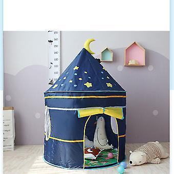 Seeunique Kids Joaca Cort Starry Sky Castle - Portabil Copii Cort - Copii Playhouse Cel mai bun cadou pentru baieti si fete