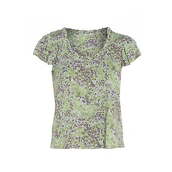 BHS Short Sleeve Floral Top TP311-14