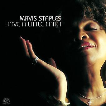 Mavis Staples - har en liten tro [CD] USA import