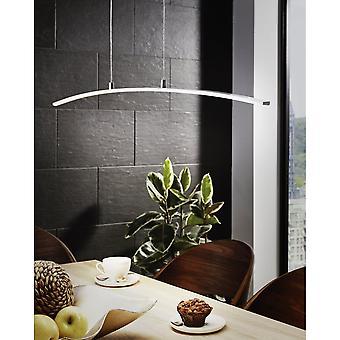 Pendentif Eglo Lasana Chrome Modern Bar Light