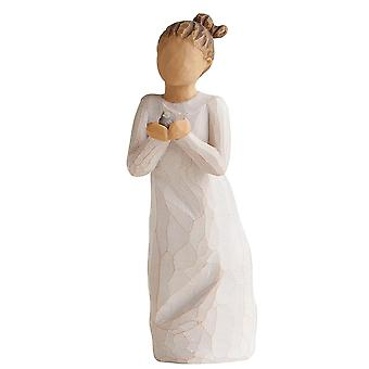 Willow Tree Nurture Hand Painted Figurine