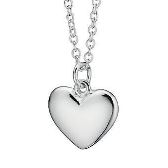 925 Silber modische Herz Halskette
