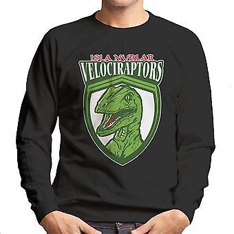 Jurassic Park Isla Nublar Velociraptors mannen Sweatshirt