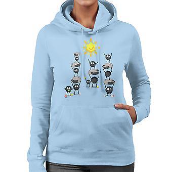 キャンディ太陽レディース フード付きスウェット シャツの神隠し