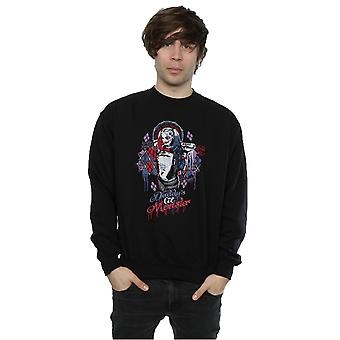 Suicide Squad Men's Harley Quinn Daddy's Lil Monster Sweatshirt