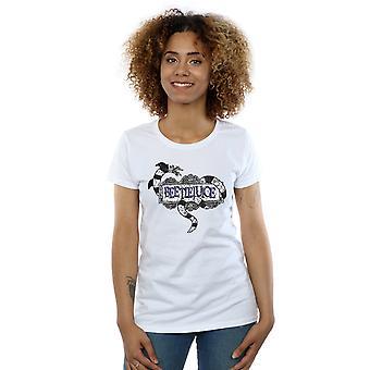 Beetlejuice Women's Sandworm Logo T-Shirt