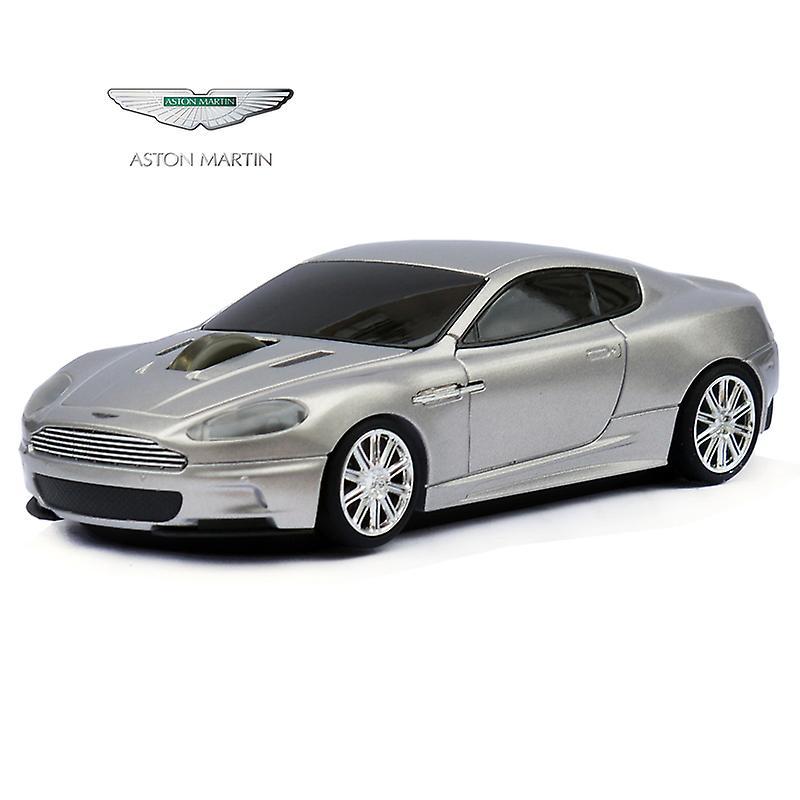 Official Aston Martin DBS Car Wireless Computer Mouse - Silver
