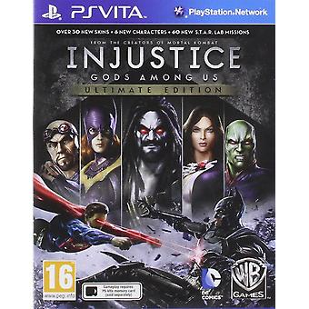 Injustice Gods Among Us Ultimate Edition PS Vita Game