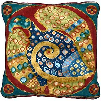 Celtic Eagle Needlepoint Kit