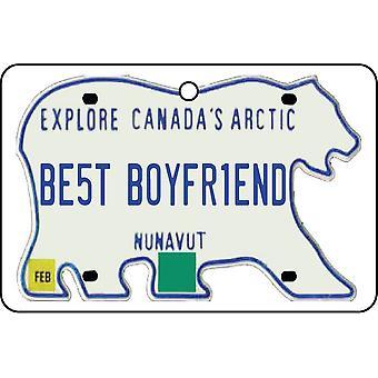 NUNAVUT - beste vriendje kenteken auto luchtverfrisser
