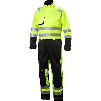 Helly Hansen Herren Alna langlebige High-Vis Bau Workwear Anzug