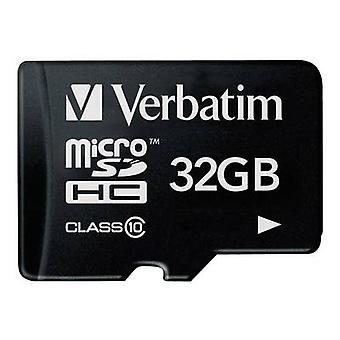 Tarjeta de Verbatim Premium microSDHC 32 GB clase 10