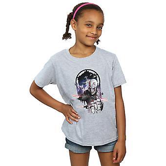 Star Wars meisjes rebellen de grootinquisiteur T-Shirt