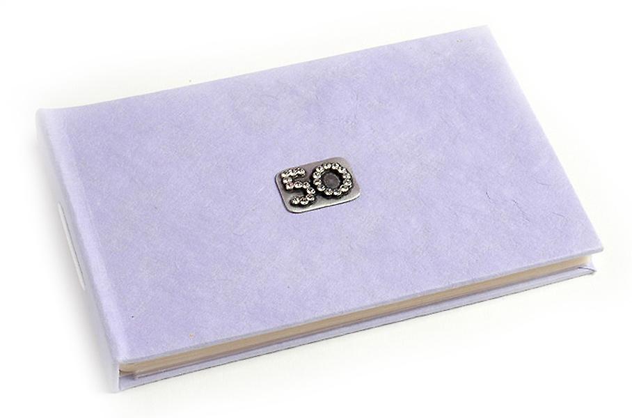 50 Celebration Lilac Pocket-Foto-Album