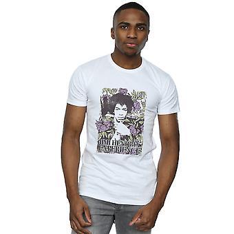 Jimi Hendrix mäns Vogue blommig T-Shirt
