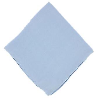 Michelsons av London slätten siden näsduk - ljusblå