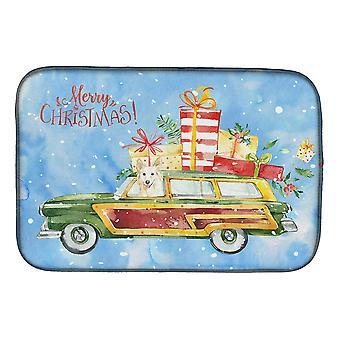 Carolines skatter CK2429DDM god jul hvit Kullminen rett tørking Mat