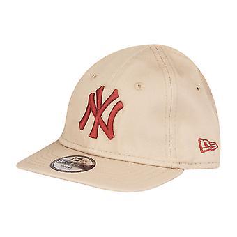 New era 9Forty kids infant baby Cap - NY Yankees beige