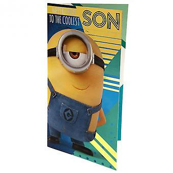 Despicable Me 3 Minion Son Birthday Card