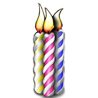 Syntymäpäivä kynttilä (ryhmä) - Lifesize pahvi automaattikatkaisin / seisoja