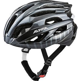 Alpina Fedaia Fahrradhelm // titanium/black