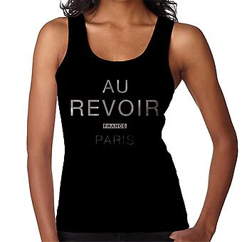 Au Revoir France Paris Women's Vest
