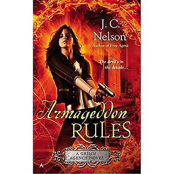 Armageddon regels (Grimm Agentschap romans)