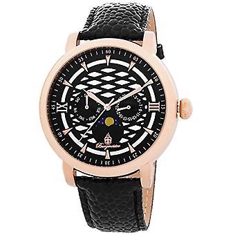 Burgmeister masculino de relógio de quartzo Akron, BM217-322