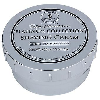 Taylor Of Old Bond Street scheerschuim Pot 150g Platinum Collection