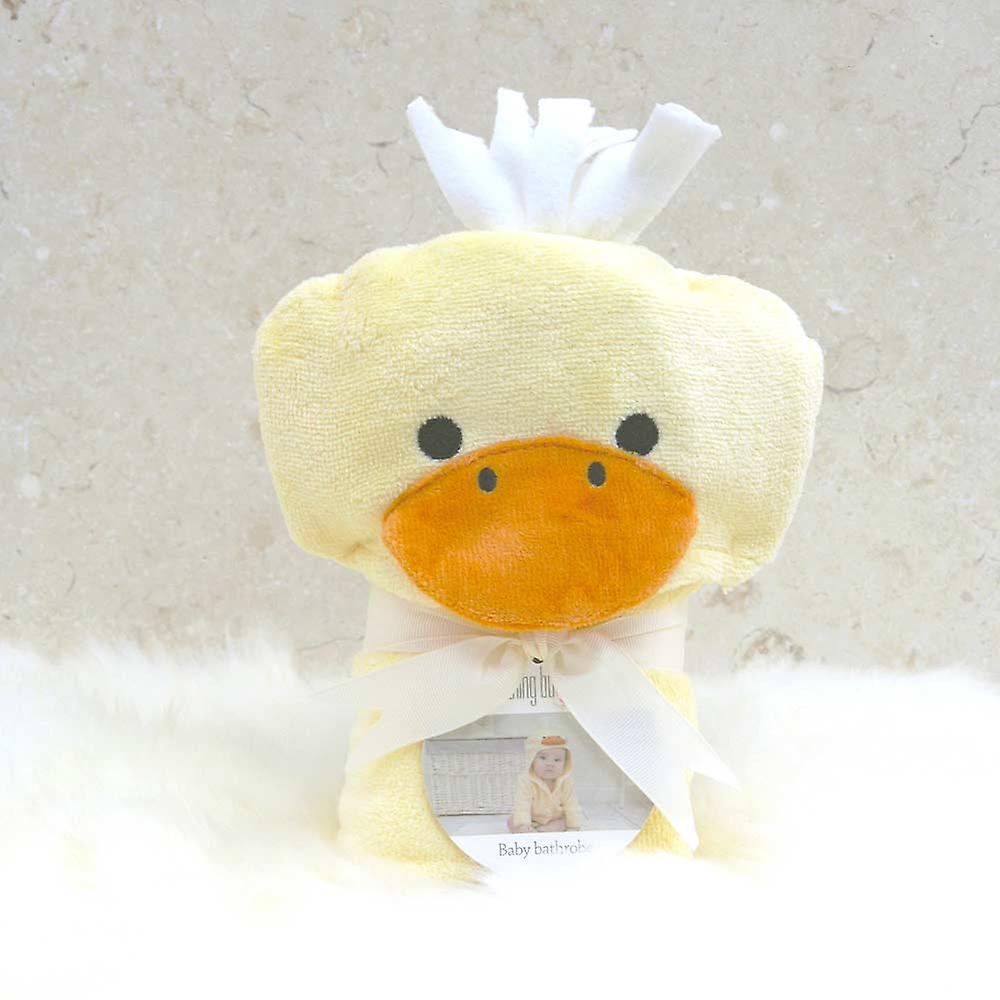 Cuddly Duck baby bath robe