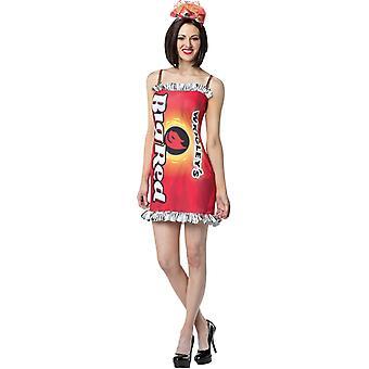 Wrigleyss stora röd klänning