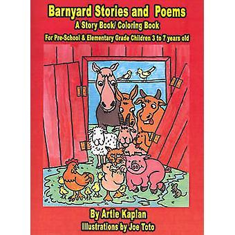 Baryard verhalen en gedichten A verhaal BookColoring boek van Kaplan & Artie