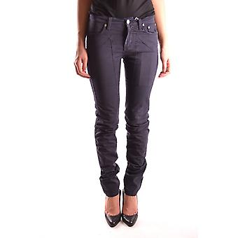 Jeckerson Ezbc069002 Women's Blue Cotton Jeans