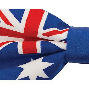 Dobell Mens Australian Flag Bow Tie Pre-Tied