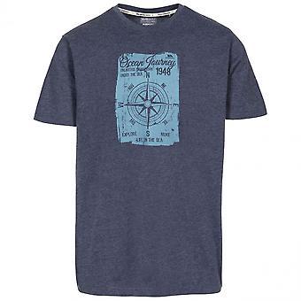 Trespass Mens Course Short Sleeve Quick Dry Graphic T Shirt