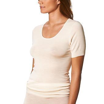 Mey Primera Off White Short Sleeve Top 66576