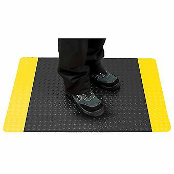 sUw-anti väsymys matto musta säännöllinen