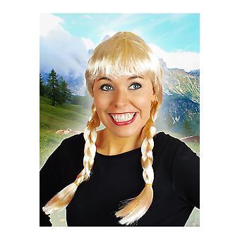 Bionda di Heidi parrucca parrucche
