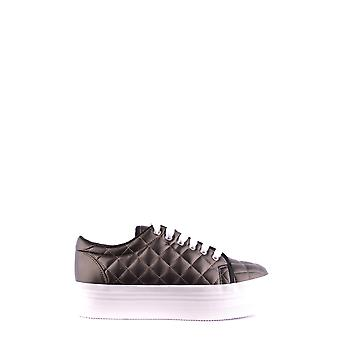 Jeffrey Campbell Ezbc132046 Dames's Brown Faux Leather Sneakers
