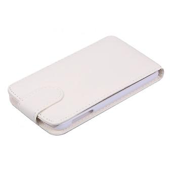 Cell phone case cover flip cell phone case for Samsung Galaxy S6 white