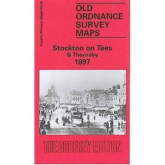 Stockton-on-Tees and Thornaby 1897 - Durham Sheet 50.16 by Robert Wood