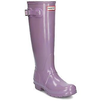 Hunter Original Tall Gloss WFT1000RGL agua todo el año zapatos de mujer