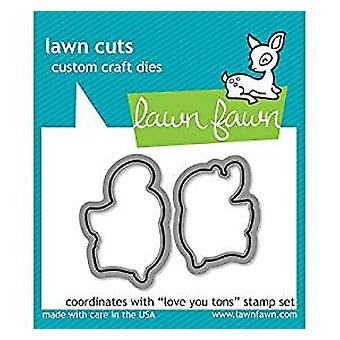 Rasen Fawn Love You Tons Dies (LF600)